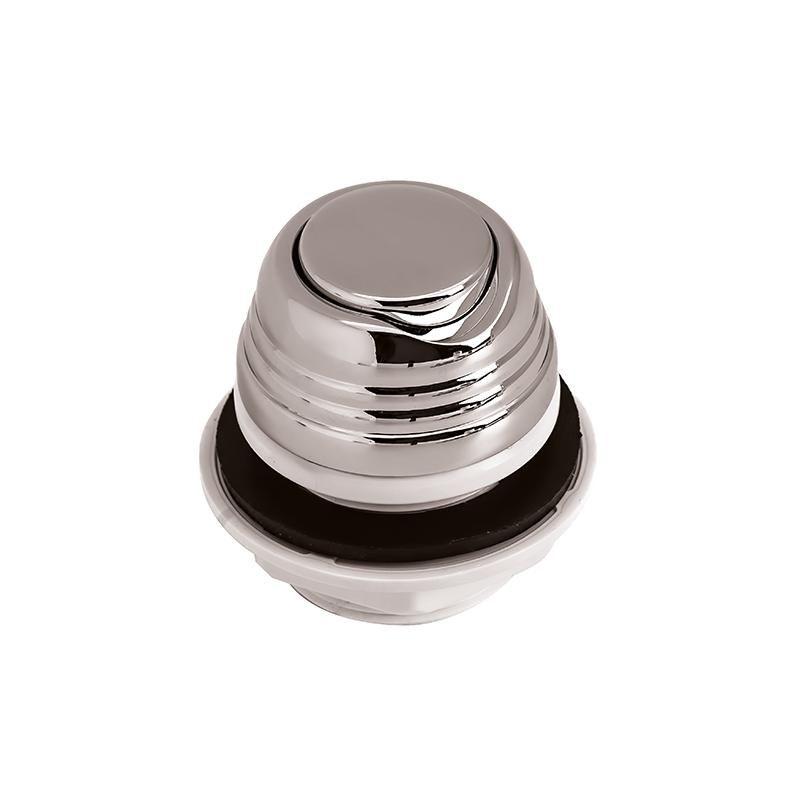 Кнопка включения АКВА металл хром